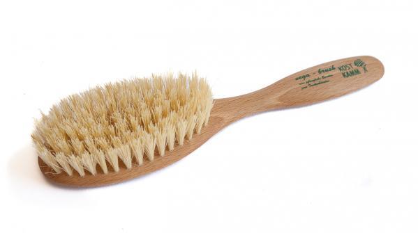 Haarbürste aus Holz vegan oval