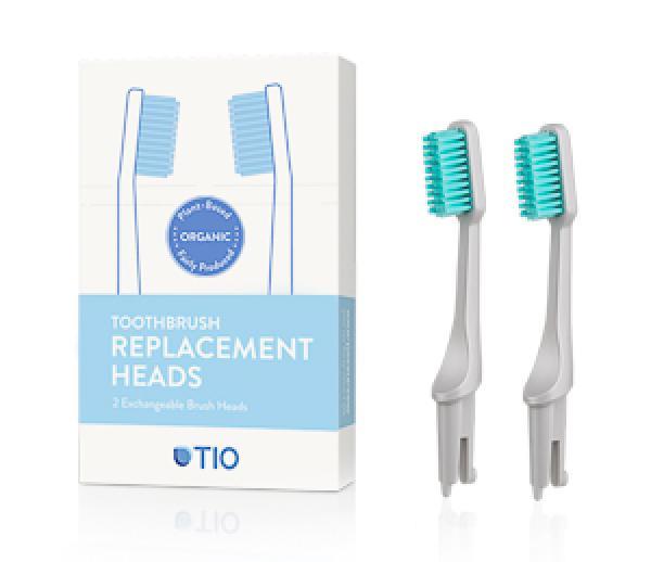 Ersatzköpfe für die tio-Zahnbürste