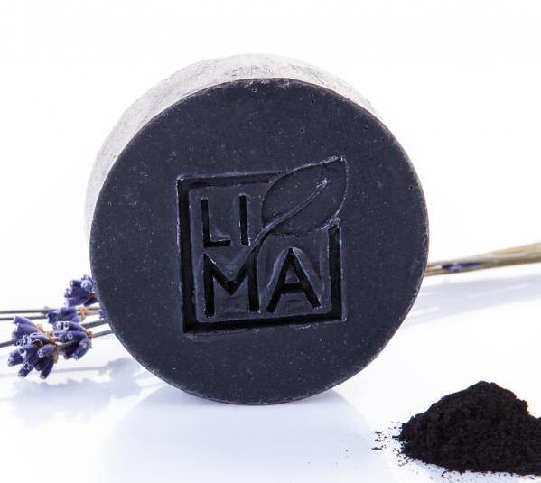 Lima Gesichtsseife für schnell fettende Haut Black Lavender
