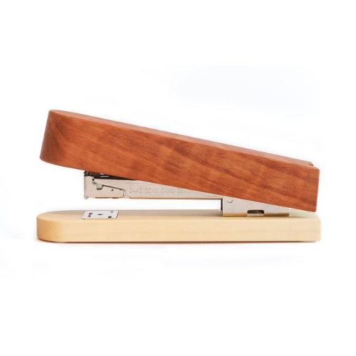 Hefter für Papier aus Holz