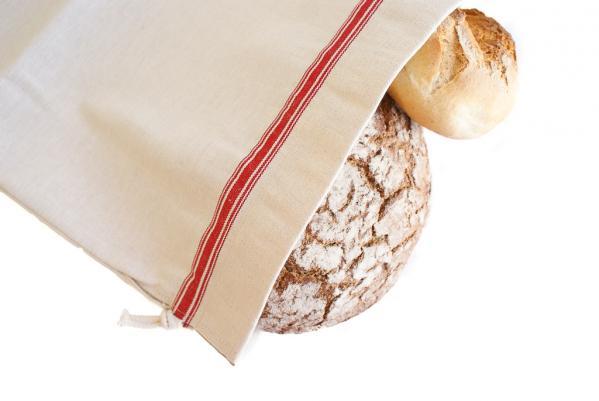 Brotbeutel aus Halbleinen