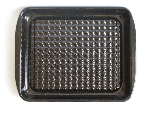 Riess Grillschale aus Emaille eckig