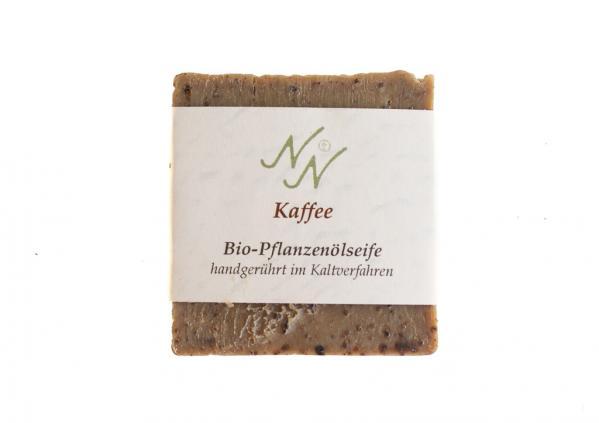 Neuzeuger Natuseife aus Bio-Pflanzenöl Kaffee