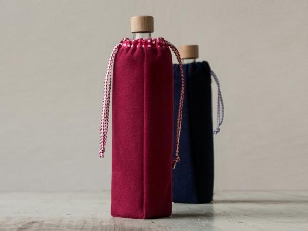 Zwei Flaschentaschen