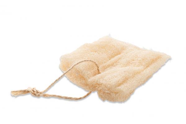 Seifensäckchen aus Luffa mit einer Kordel