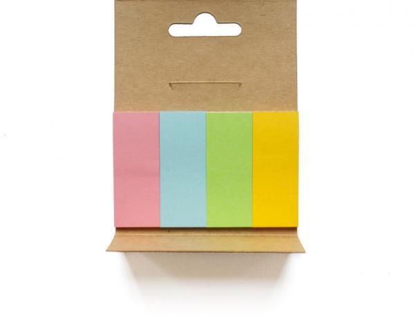 Pagemarker in vier Farben