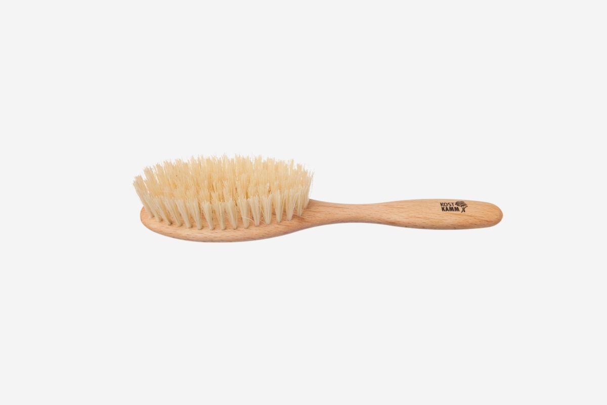 Haarbürste vegan oval