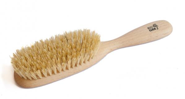 Haarbürste aus Holz vegan längliche Form