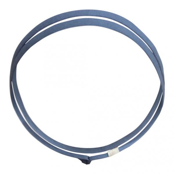 Zweireihiges blaues Haarband