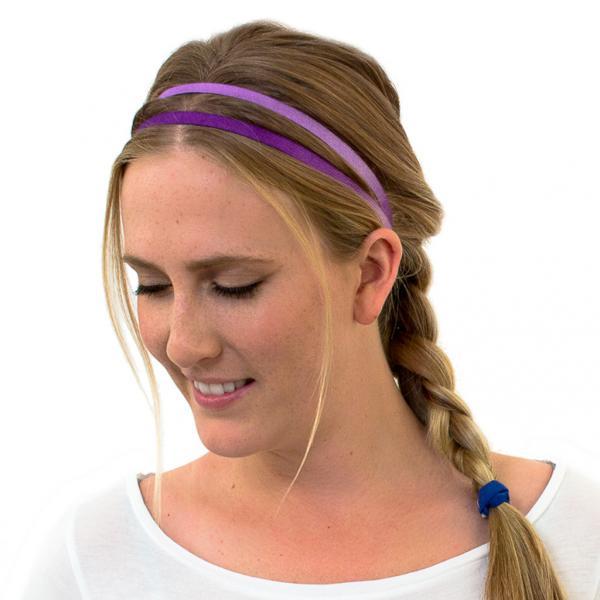 Lilafarbenes Haarband
