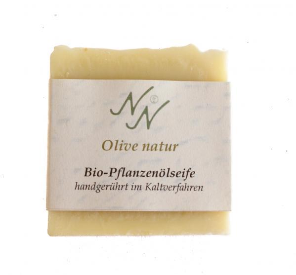 Ein Stück Olivenseife