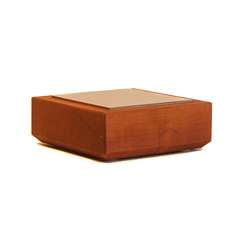 Büroklammerspender aus Holz
