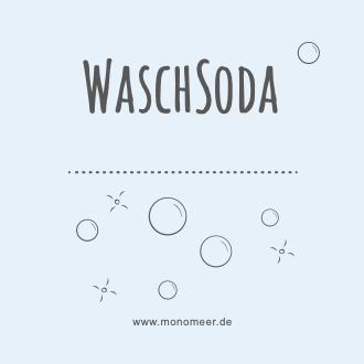 Aufkleber für Waschsoda